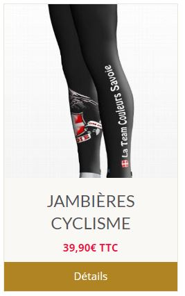 Jambieres cycliste